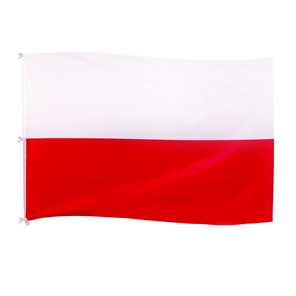 Flaga Polski 125x200 Cm Drukowana Na Maszt IFlagi